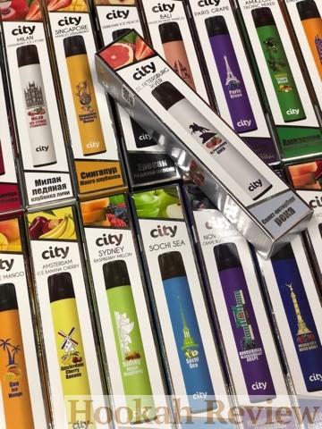 Одноразовые электронные сигареты Сити